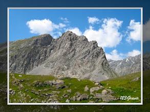 Photo: Du refuge du Col de la Vanoise