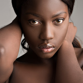 Pure! by Stig Johansson - People Portraits of Women ( model, girl, female, woman, beautiful, beauty, cute, black )
