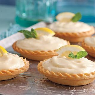 Creamy Lemon Shortbread Tarts.