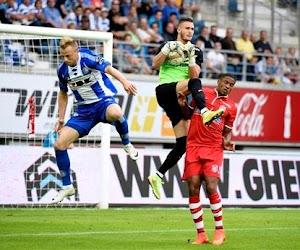 En panne d'inspiration, le RMP s'incline à Gand (1-0)