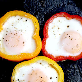 Bell Pepper Sautéed Eggs.