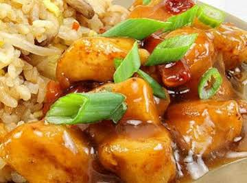 Recipe: Orange Chicken with Fried Rice