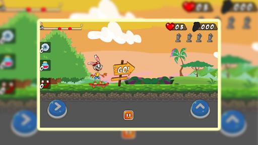 Télécharger Skating Bunny apk mod screenshots 1