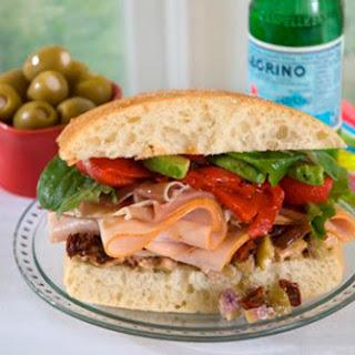 Turkey PLTA (Prosciutto, Lettuce, Tomato and Avocado)