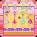 Ice cream cone cupcakes candy icon