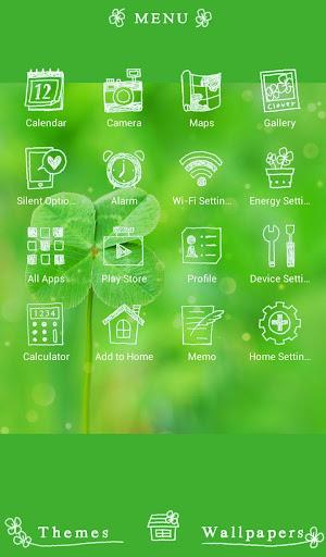 Four-Leaf Clover +HOME Theme 1.0.0 Windows u7528 2