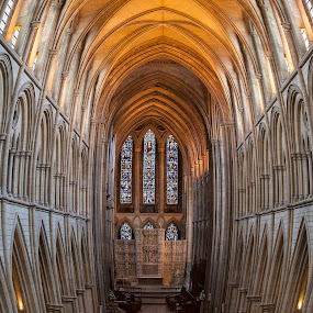 Truro Cathedral by Brian Pierce - Buildings & Architecture Places of Worship ( cathedral, truro,  )