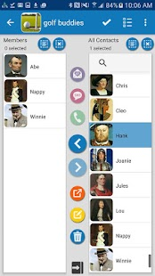 Mad Contact Groups Screenshot