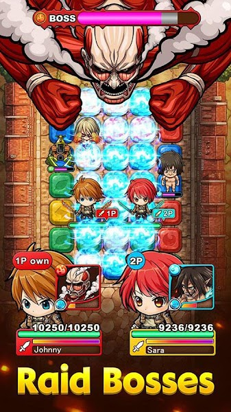 Mega Monster Legends – Attack on Titan v1.06 [Mod]