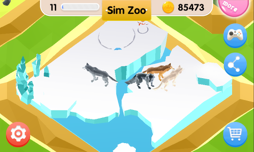 Sim Zoo - Wonder Animal 1.1.0 screenshots 3