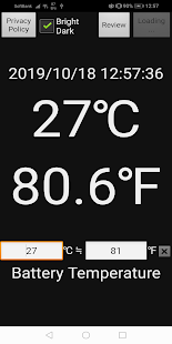 App Easy Device Thermometer℃℉ APK for Windows Phone