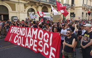 sgombero CPO Colapesce - manifestazione