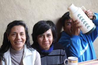 Photo: Giovanna Salas - Ali Rojas - César Barriga Un tesito o matecito, dependiendo del gusto en Patabamba. Casa de la señora Dominga Llloque