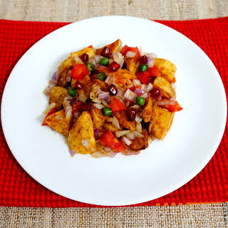 Authentic Aloo Chaat.