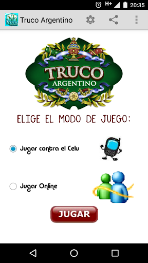 Argentinean truco  screenshots 1