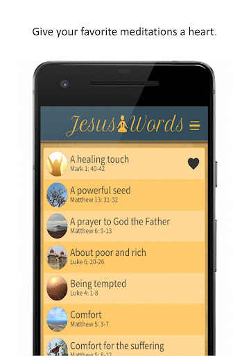 Jesus Words Meditation 1.280 screenshots 6