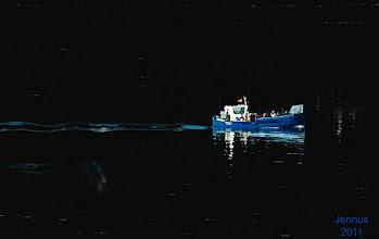 Photo: Nachtangeln oder Wiskey Smuggling mit dem Boot
