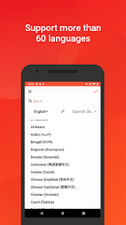 Oiga translate -  picture and voice translator APK screenshot thumbnail 3