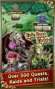 Brave Frontier Screenshot