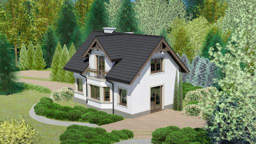 projekt Dom przy Waniliowej