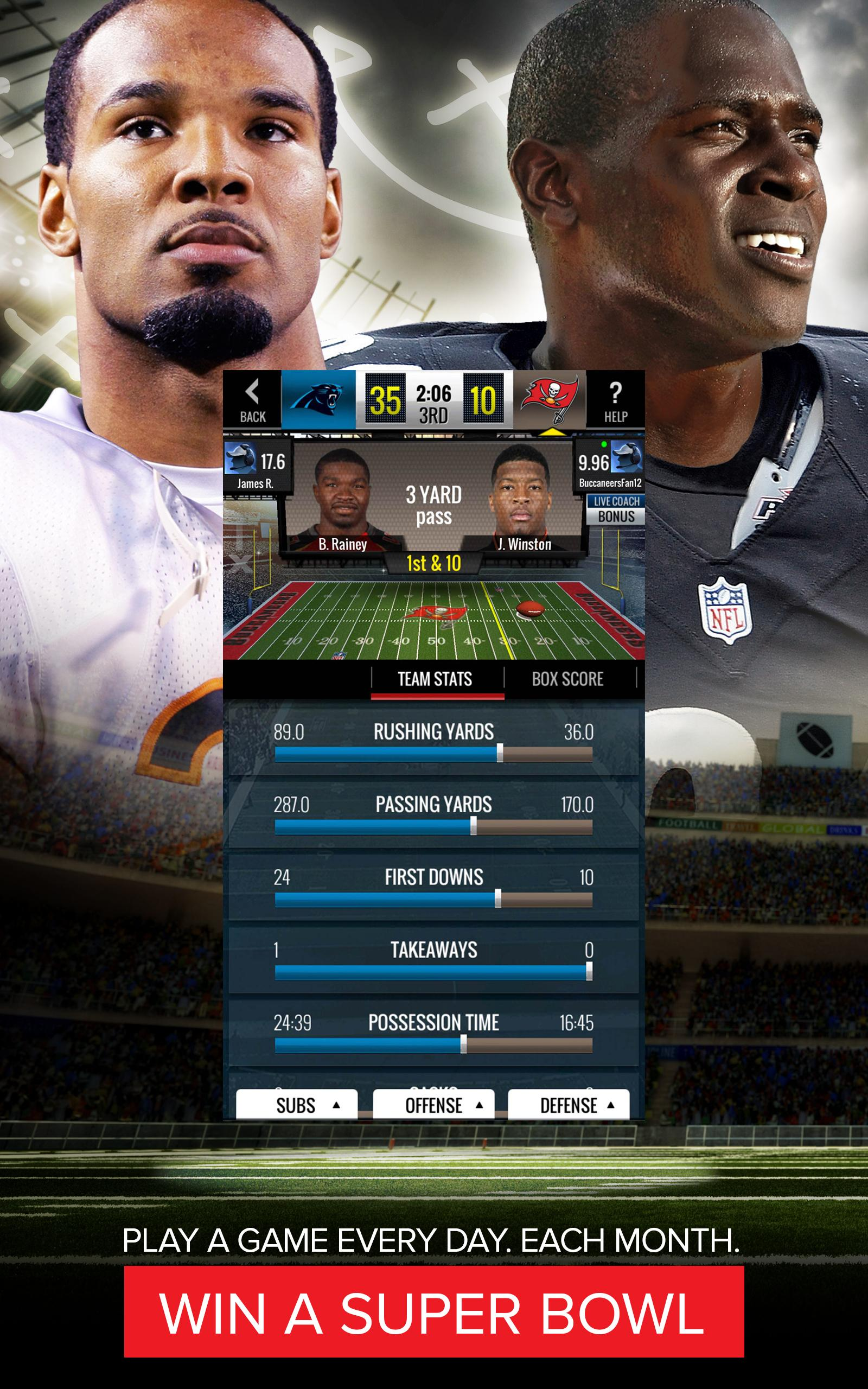 NFL Showdown: Football Manager screenshot #7