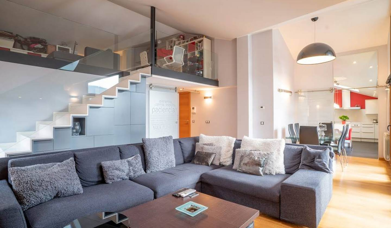 Appartement contemporain avec terrasse Ordino