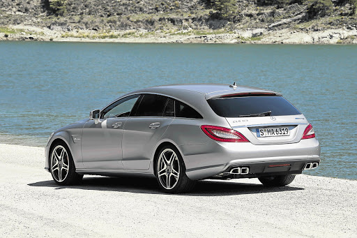 MOVER AND SHAKER: The AMG version of the Mercedes-Benz CLS Shooting Brake does the 0-100km/h dash in just 4.4 seconds