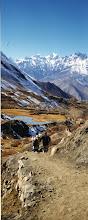 Photo: Afdalen naar Muktinath.