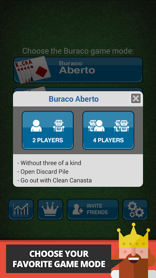 Buraco: Canasta Cards- screenshot