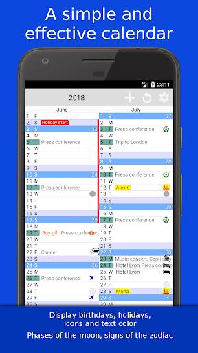 The Calendar Pro 2.9 screenshots 1