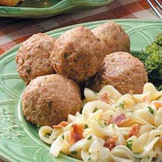 Pork Meatballs Recipe