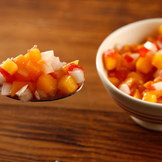 Peach, Tomato, and Sweet Onion Salsa