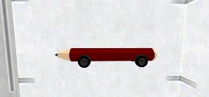 Shining pencil