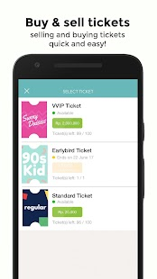 eventevent - Post your own event & ticket - náhled