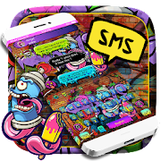 SMS Colorful Graffiti Keyboard
