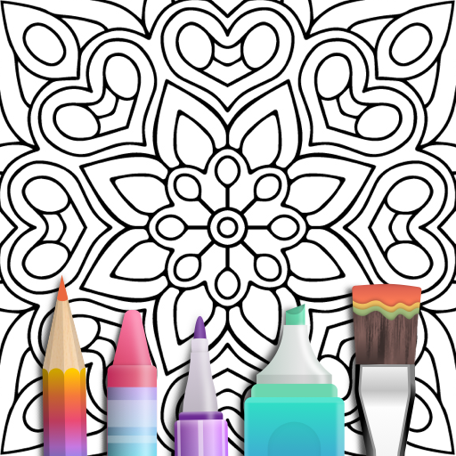 Mandala Coloring Book - Apps on Google Play