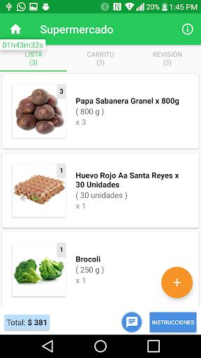 Mercadoni Pilotos ShopperApp  screenshots 4