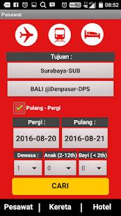 Indonesia Tiket - náhled