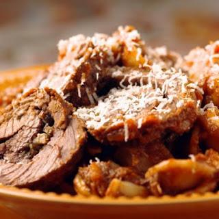 Orecchiette al Ragu di Braciole (Pasta with Beef Ragu and Braciole)
