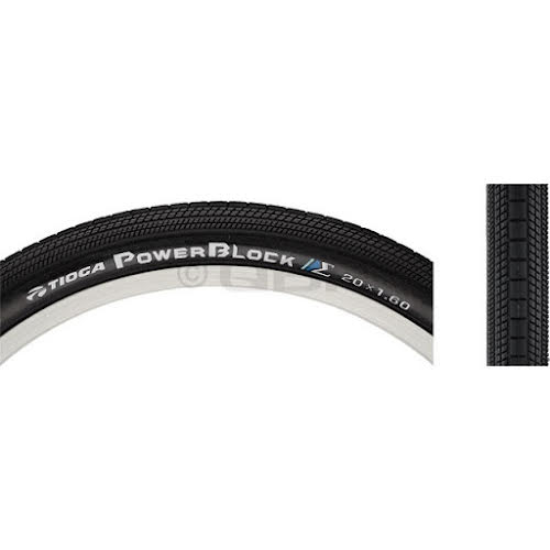 Tioga PowerBlock Tire: 24x2.10 Wire Bead