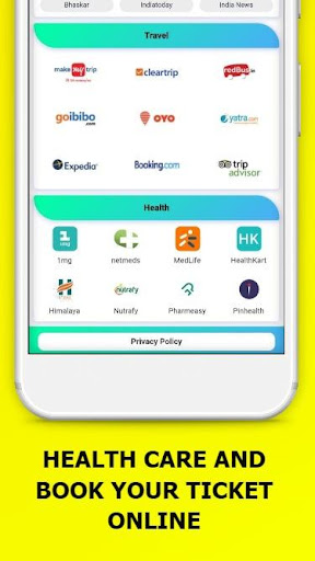 All In One Social Media,News,Sports,Shopping App 15.0.0 screenshots 4