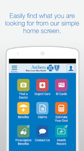 Anthem Blue Cross Blue Shield- screenshot thumbnail