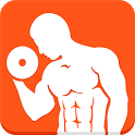 Dumbbells home workout icon