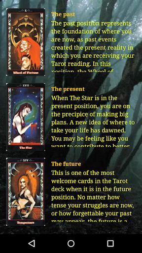 Tarot of the vampires lite 2.31 Vampires lite screenshots 4