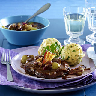 Franconian Pork Steaks with Dumplings