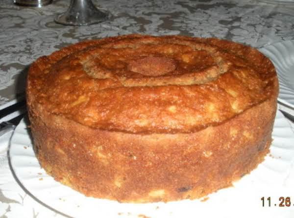 Fresh Carrot Bundt Cake