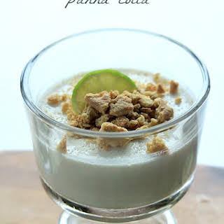 Key Lime Pie Panna Cotta.