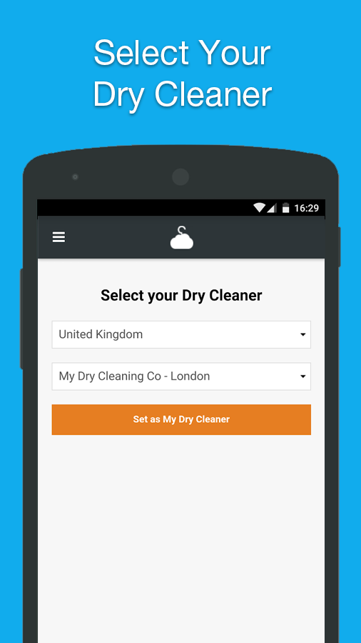 CleanCloud - Dry Cleaning & Laundry- screenshot