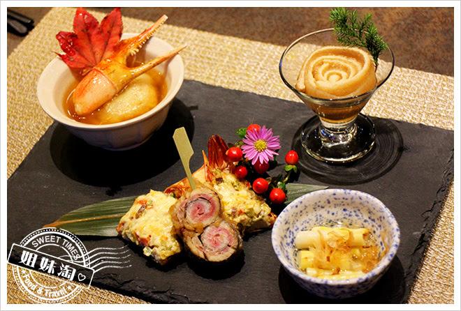 次郎本格日本料理前菜