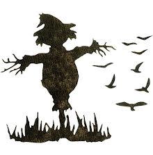Tim Holtz Sizzix Thinlits Dies 3/Pkg - Scarecrow